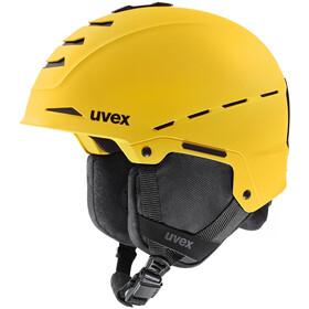 UVEX Legend Pro Helmet yellow mat